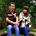 Kadr z filmu Jaś i Małgosia